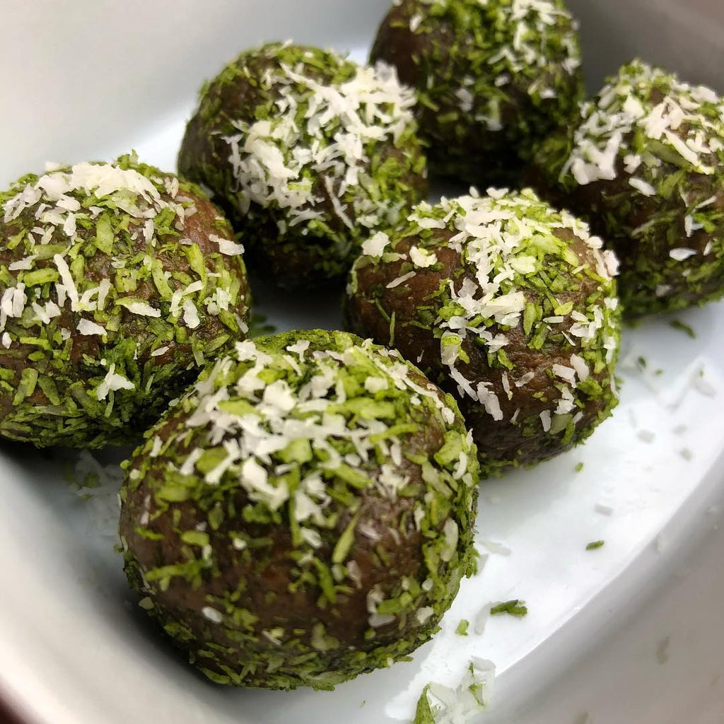 Moringa Coconut Power Balls