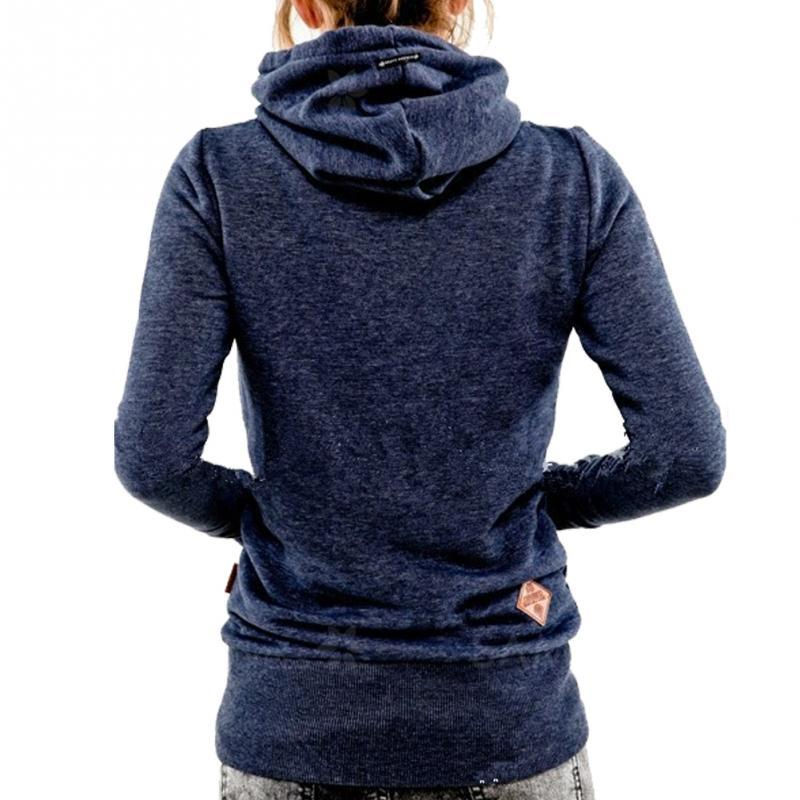 Women Long Sleeve Hoodies Casual Sweatshirt with Pocket