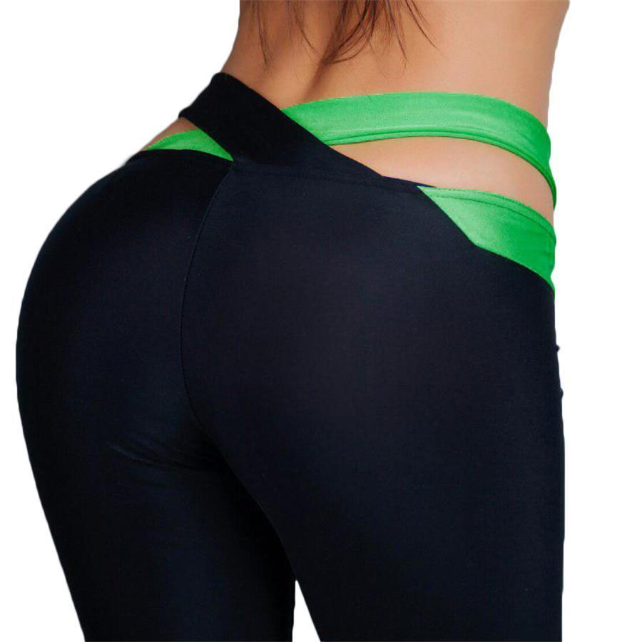 Cross Band Sports Leggings