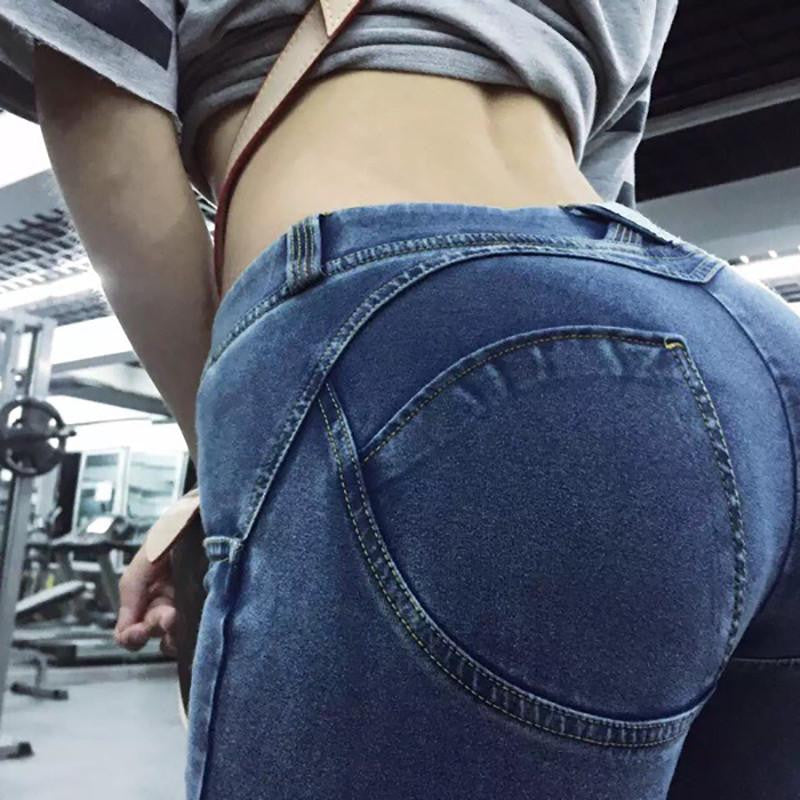 Sexy Push Up Jeans by Ashley