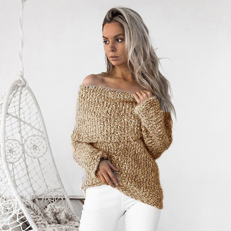 Erica Knitted Pullover - Brown