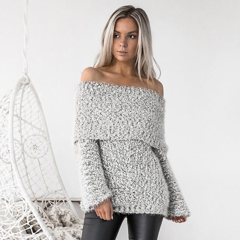Erica Knitted Pullover - Gray