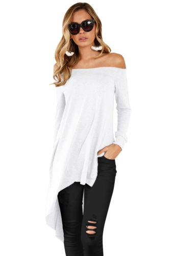 Bethany - Off Shoulder Casual Blouse