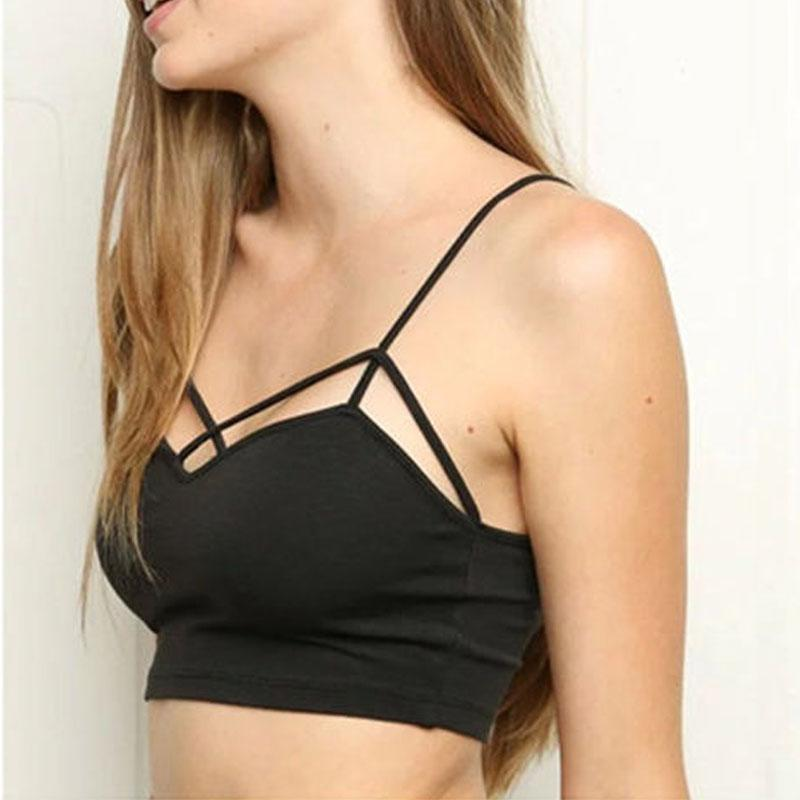 Limited Edition Solid Bralette Crop Top