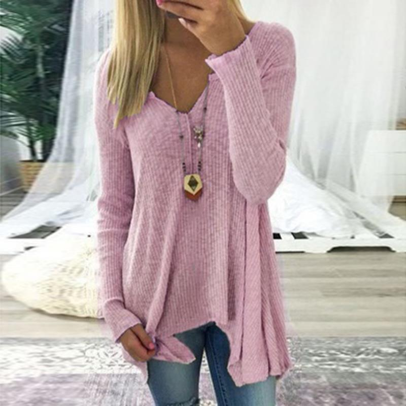 Mable V-Neck Pullover