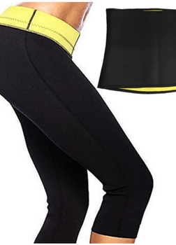 SlimFitShapers Sweat Set (Hot Shaper Pant + Sweat Ab Belt)