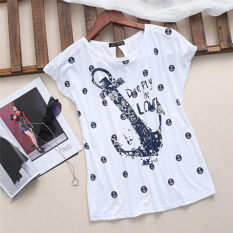 Deeply In Love Tee - White