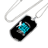 Image of Reel Cool Dad- Luxury Dog Tag