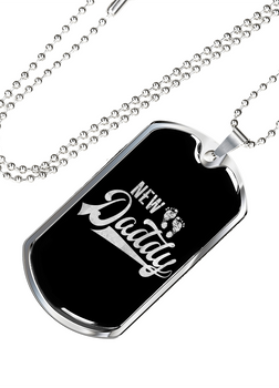 New Daddy- Luxury Dog Tag