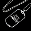 Image of New Daddy- Luxury Dog Tag
