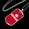 Image of Canadad- Luxury Dog Tag