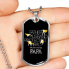 Image of We Just Call Him Papa- Luxury Dog Tag