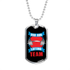 Image of Dad Bod Lifting Team- Luxury Dog Tag