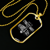 Image of Only the Coolest Dads Have Beards & Tats- Luxury Dog Tag