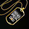 Image of It Takes Someone Special to be a Dad- Luxury Dog Tag