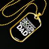 Image of My Favorite Soccer Player Calls Me Dad- Luxury Dog Tag