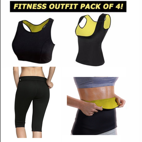 4 Piece Hot Body Shaper Bundle
