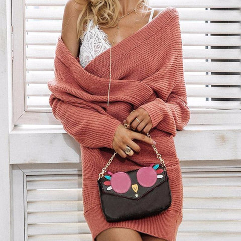 Nicole - Loose Knitted Wrap