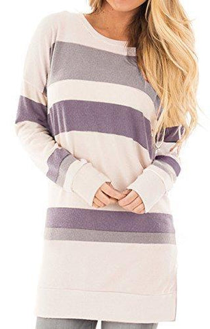 Striped Tunic - Pink