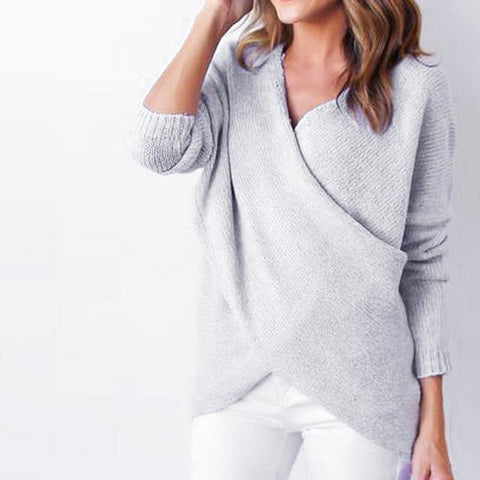 Dress To Impress Pullover - White