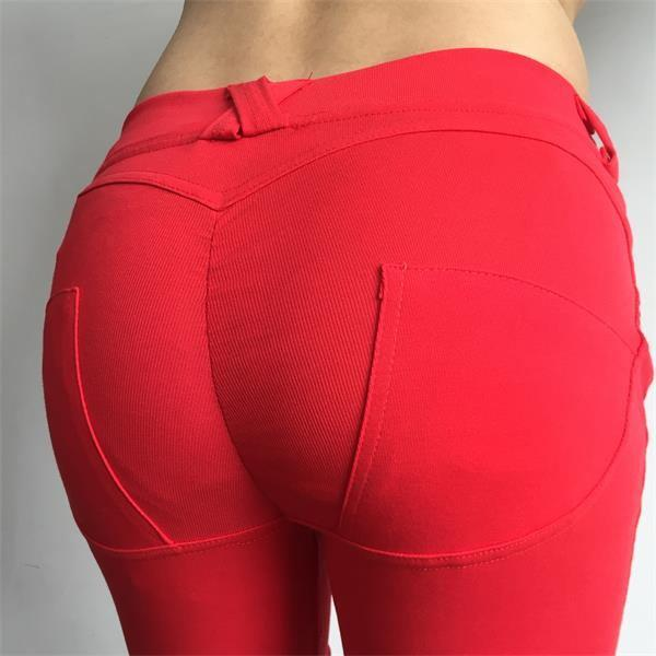 Push Up Pants Elastic Leggings