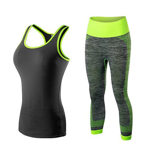Ashley Athletic Vest and Capris Bundle