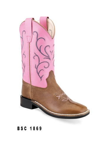 Jama Old West BSC 1869 Pink Boot
