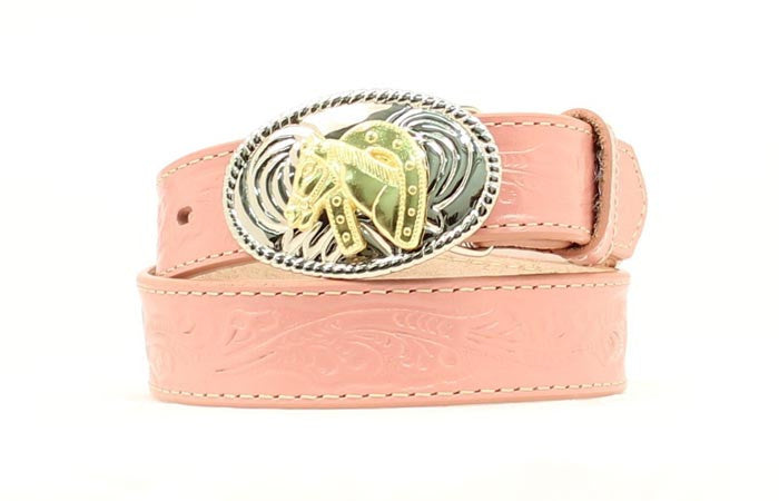 Nacona Girls Pink Western Belt