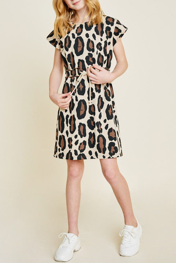 Tabitha Leopard Dress