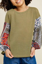 Ester Waffle Knit Blouse
