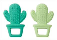 Happy Cactus Teethers