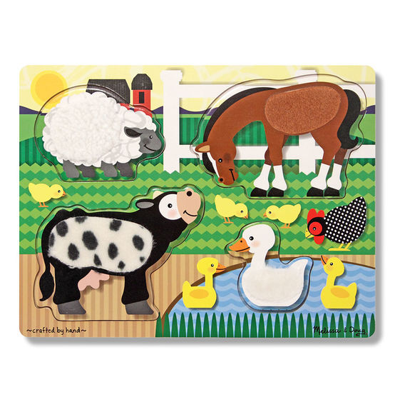 Farm Touch & Feel Puzzle