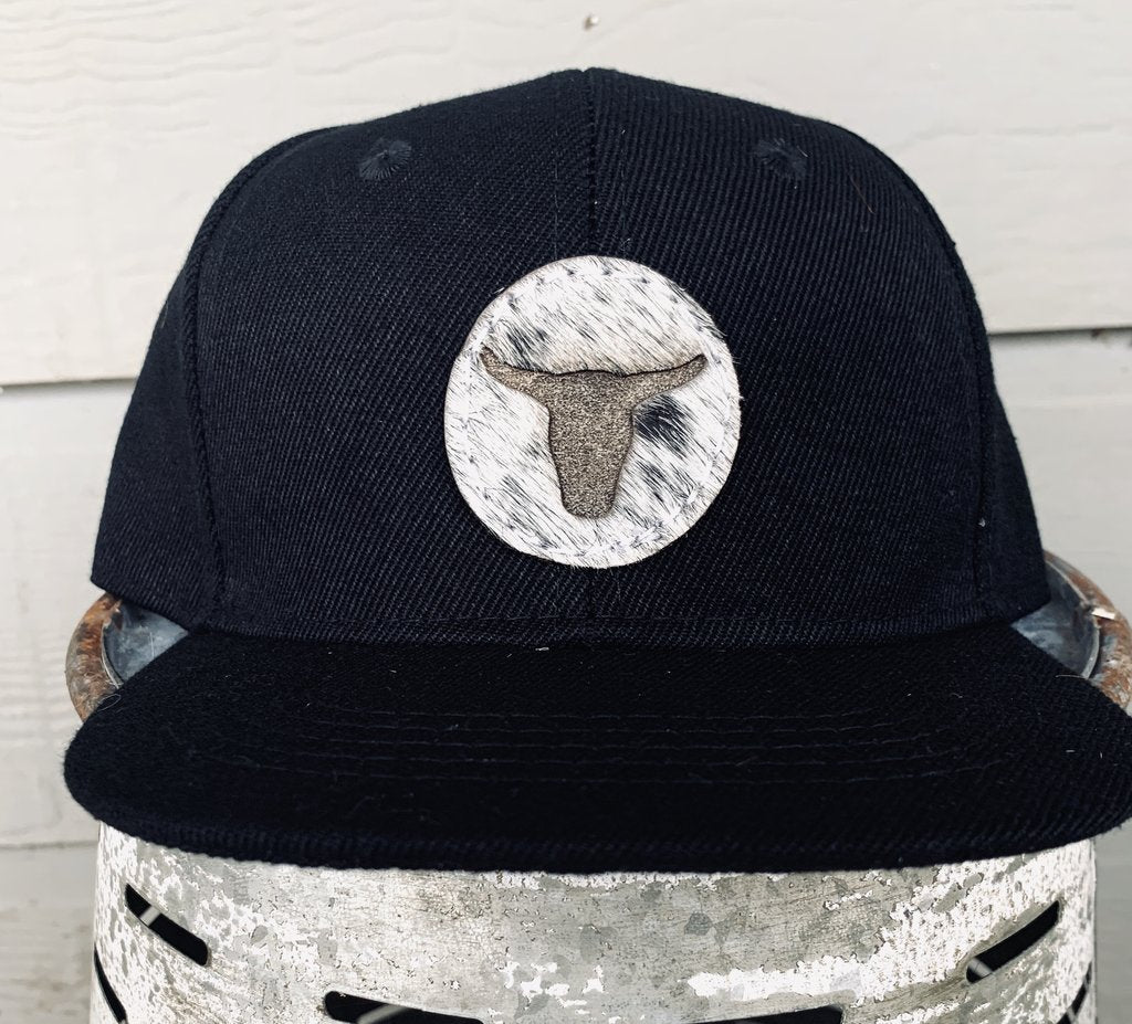 Roping Steer Cowhide Infant Cap