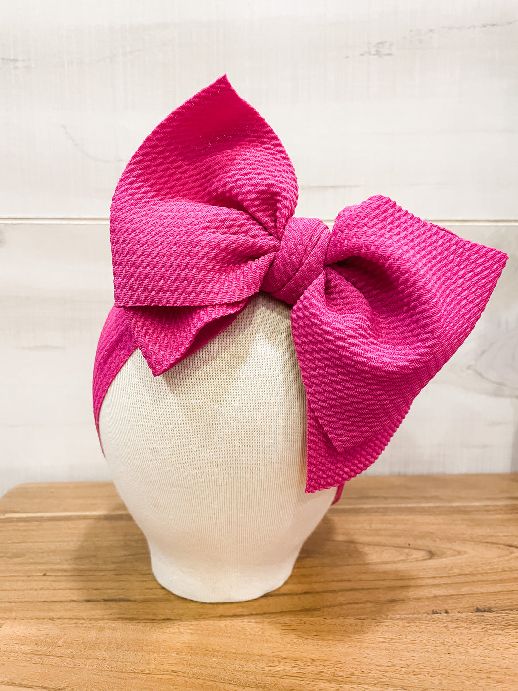 Molly Magenta Floppy Bow