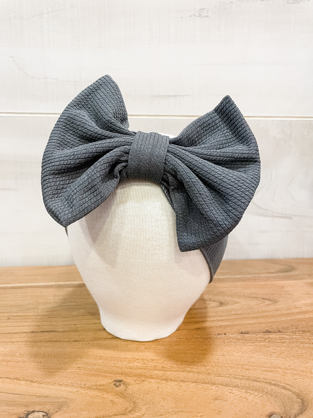 Dreamy Charcoal Grey Headband
