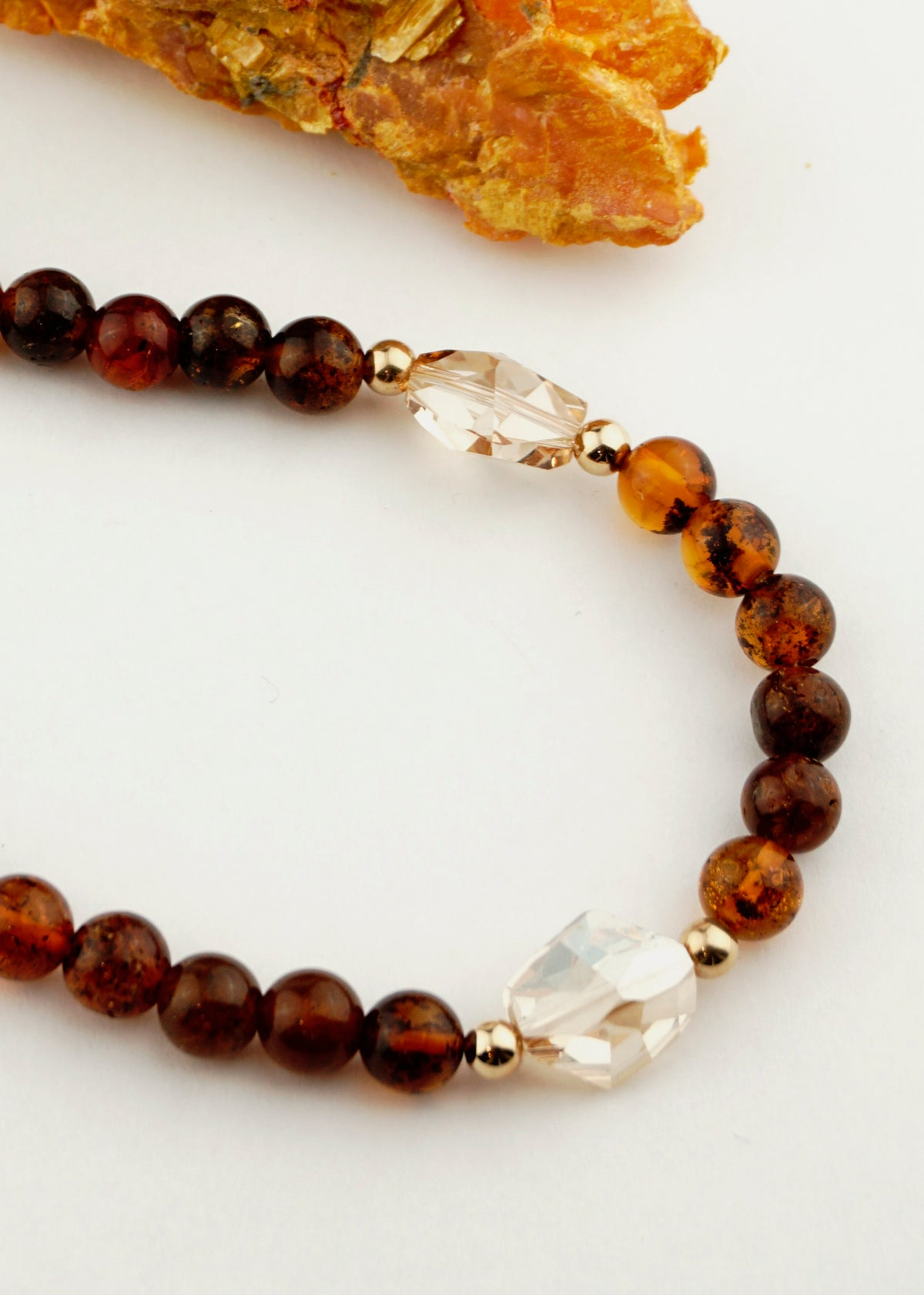 "Baltic Amber Necklace (20"")"