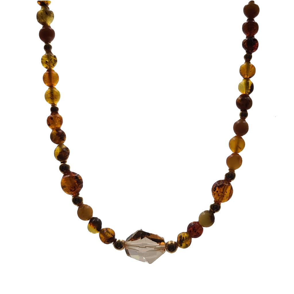 "Baltic Amber Necklace (19"")"