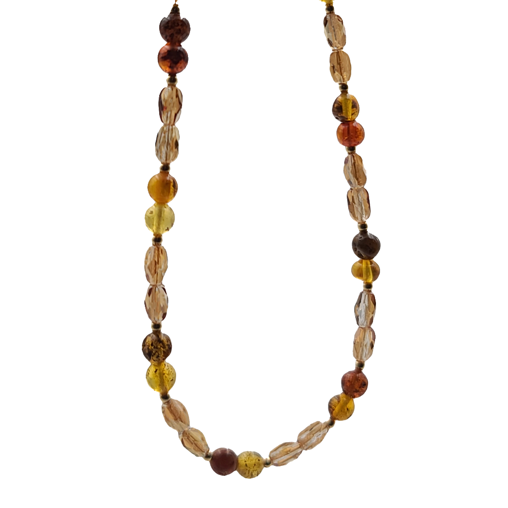 "Baltic Amber Necklace (23"")"