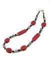 "Gioia Red Necklace (21"")"