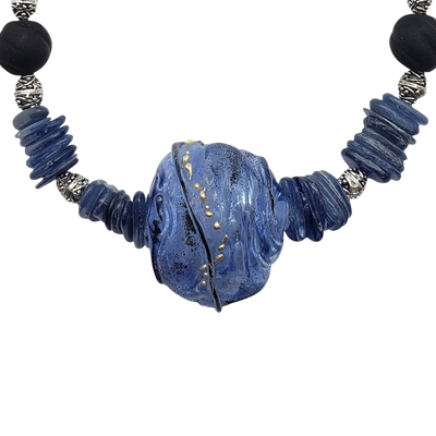 Kyanite Necklace - Becker and SUV Glass