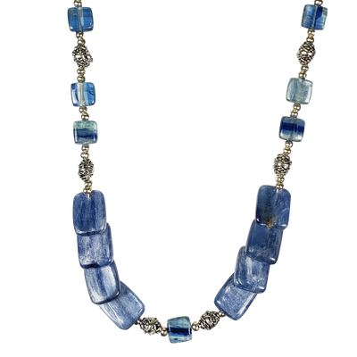 Kyanite Flats Necklace