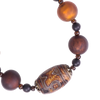 Dzi & Venitian Glass Necklace