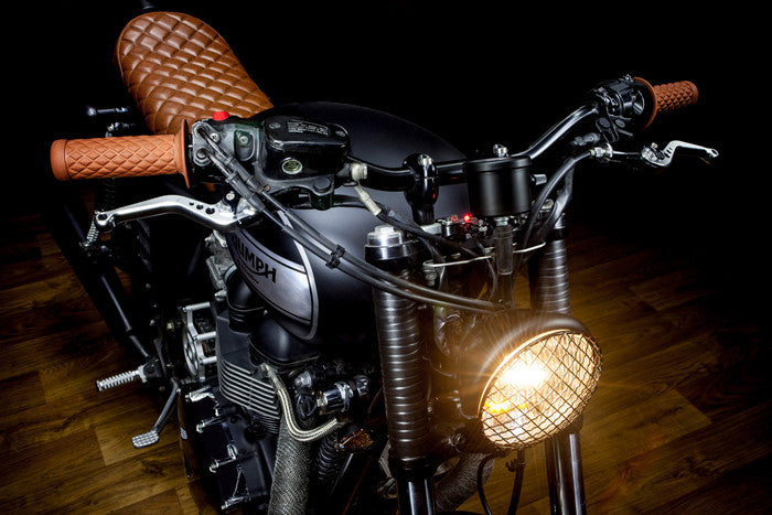 Macco Motors Triumph Bonneville 'Lizard King'