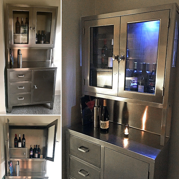 Stainless Steel Cabinet – SOLD!