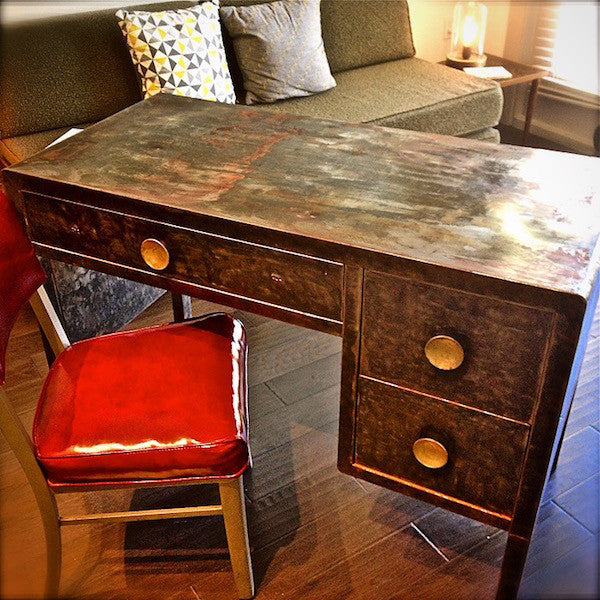 vintage norman bel geddes desk sold by A Life Designed