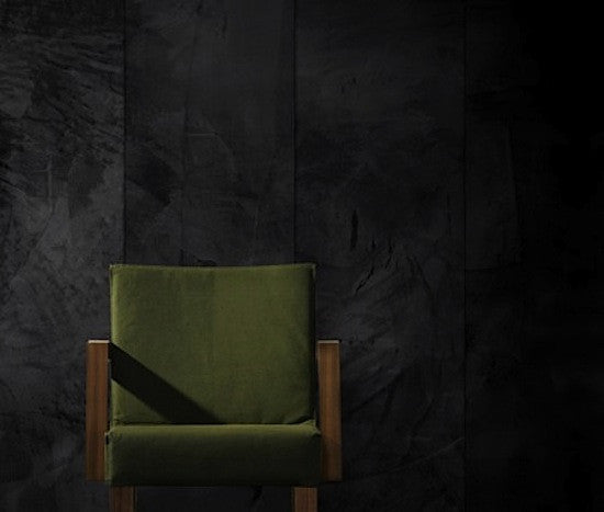 concrete-look wallpaper for industrial style decor