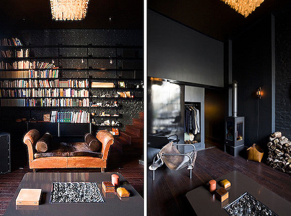 Dark, moody sophisticated interior design ideas