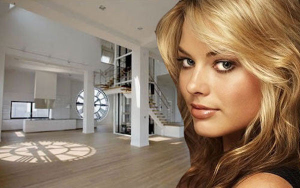 margot robbie tours the esquire bachelor apartment in brooklyn