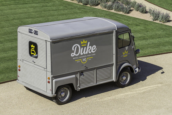 The 'Duke' special event vintage truck