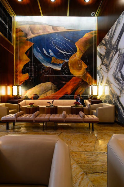 Architectural firm Roman & Williams raises the design bar with the Viceroy Hotel project.